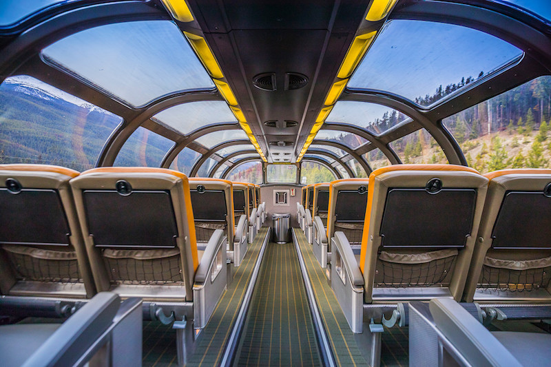 this breathtaking train across canada is only $400