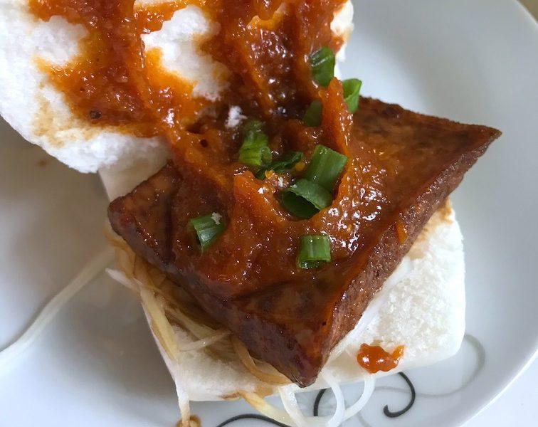tofu steamed buns - the Sea Shell