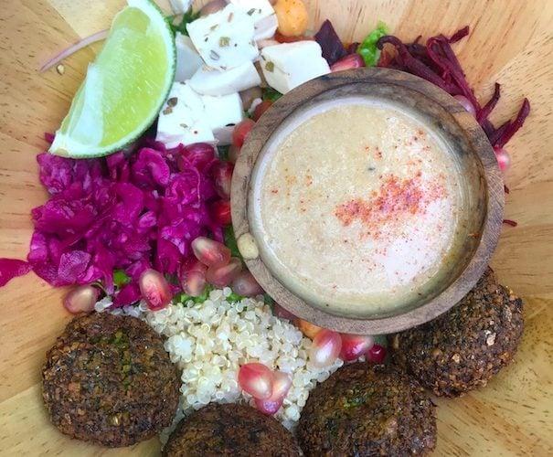 Nourish falafel bowl in Hoi An