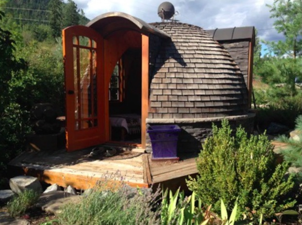 Weird accommodations canada - stay in an inipi in BC