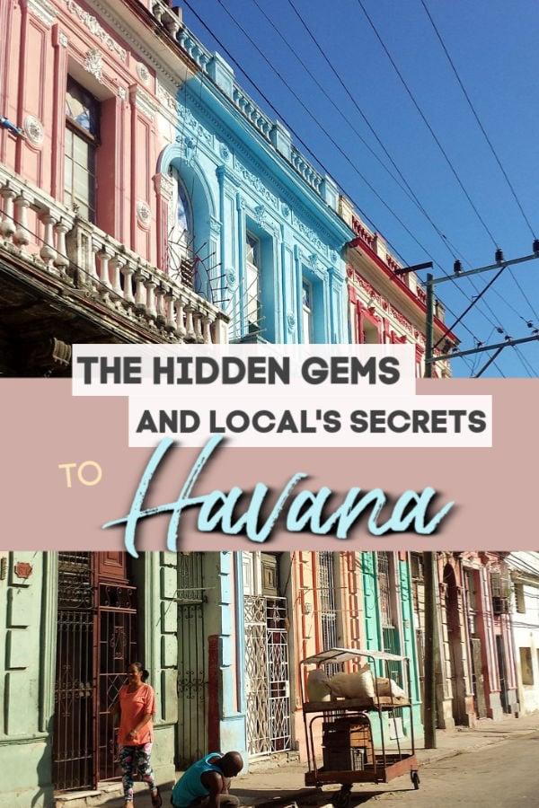 The hidden games and local's secrets to Havana Cuba
