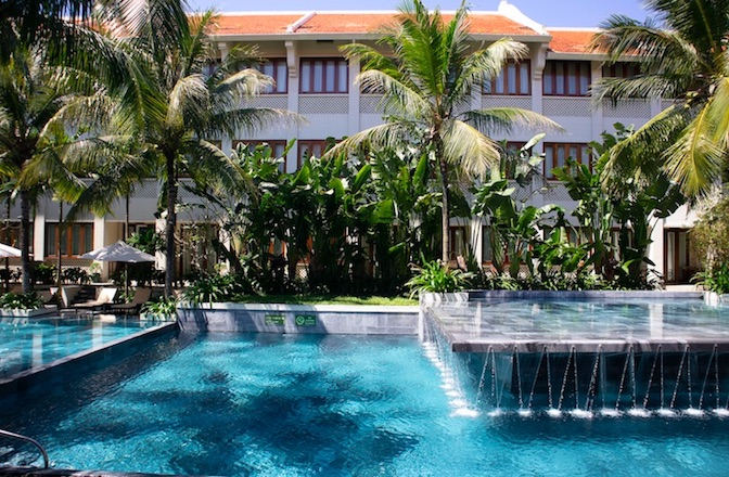 The pool at Almanity Resort Hoi An