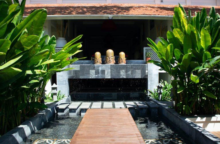 Daily Tai Chi at Almanity Wellness resort Hoi An