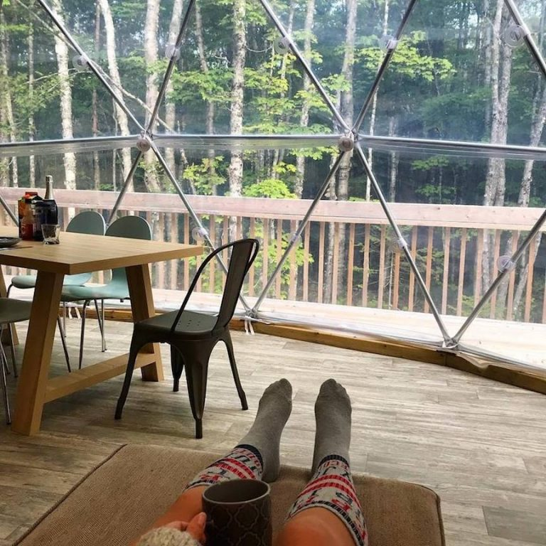 Tree Top Haven in PEI - glamping in canada