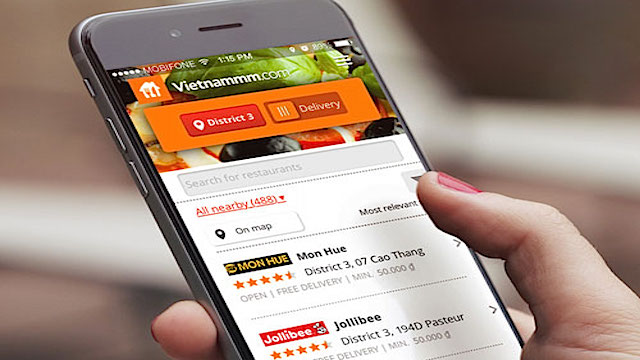 a list of hoi an restaurants on Vietnammm food delivery app