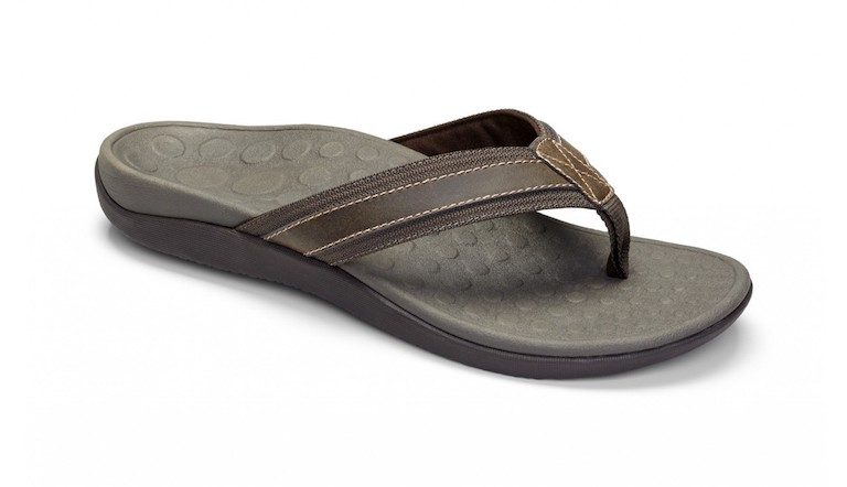 Men's flip flop with arch support for plantar fasciitis - Vionic Tide