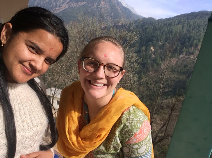 Staying with a host family in India