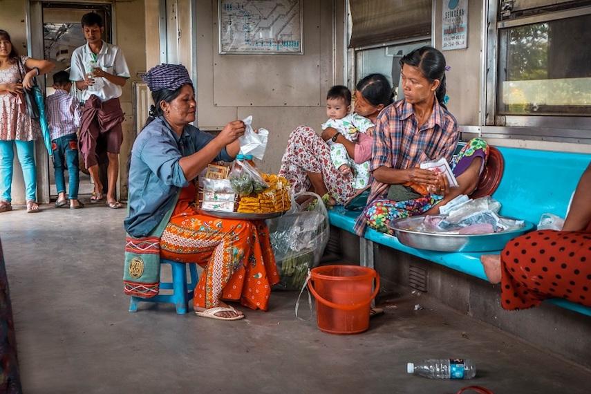 how much is the circular train in yangon myanmar