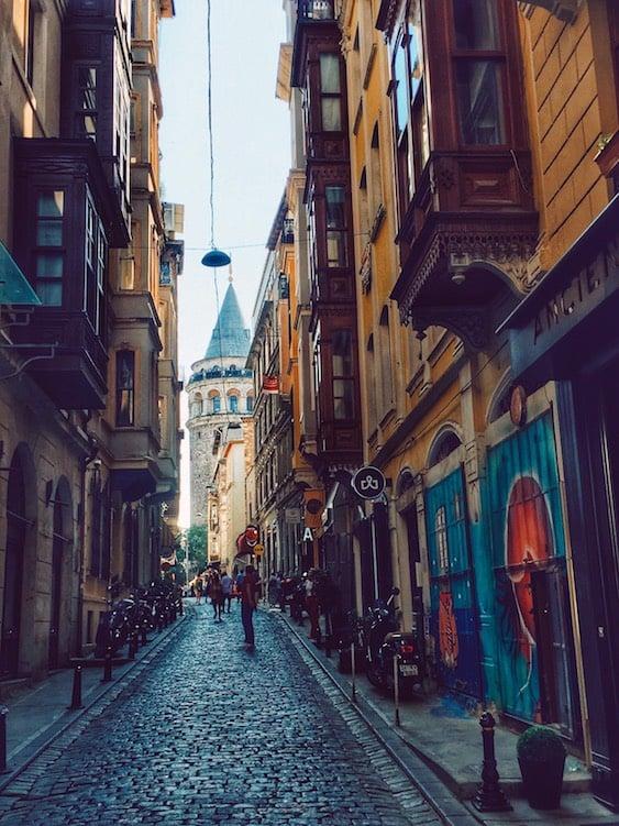 NIŞANTAŞI neighborhood in Istanbul