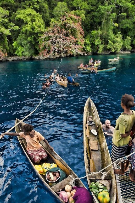Visit Mane in the Solomon Islands