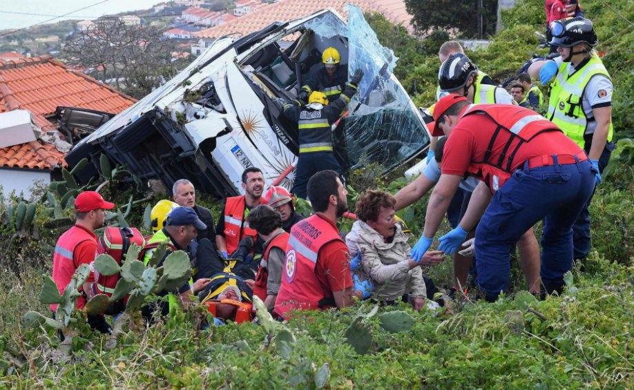 Tour Bus Crash kills 29 People In Portugal