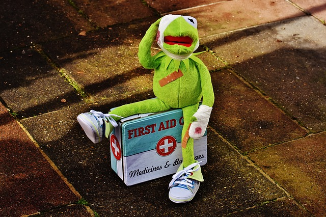 pack a first aid kit in your luggage - travel safety tips