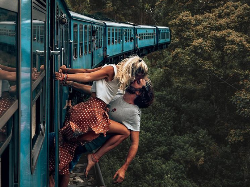 Couples Risk Lives to become Instagram Famous