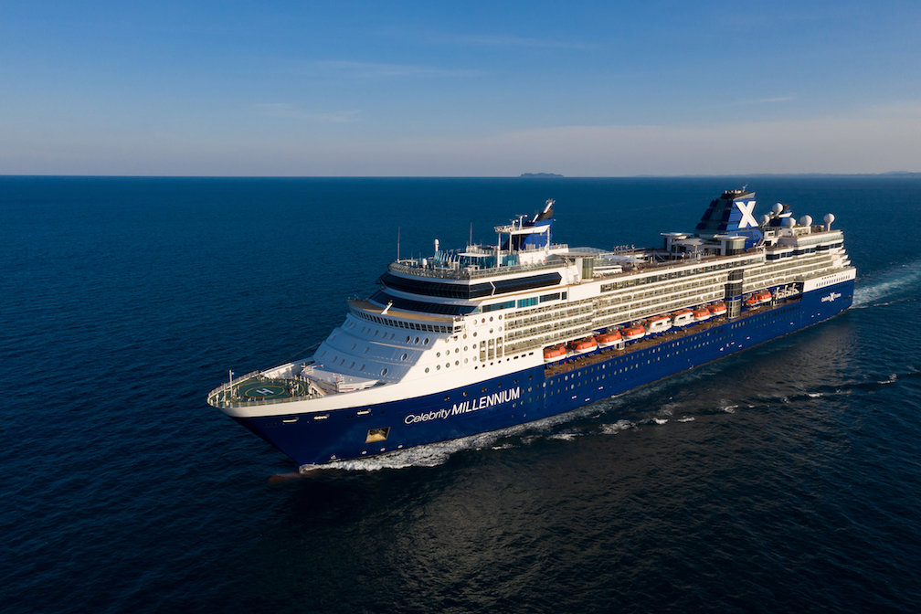 Celebrity millennium repositioning vancouver to tokyo 2019