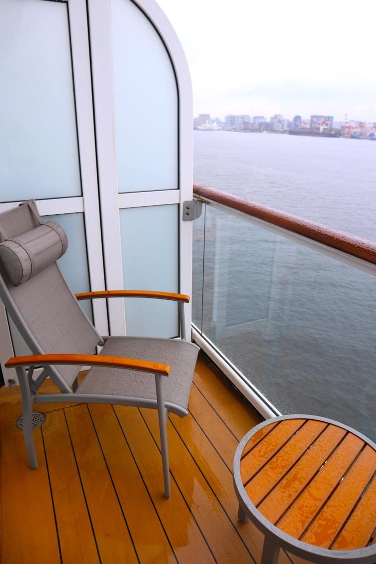 Aqua class veranda balcony