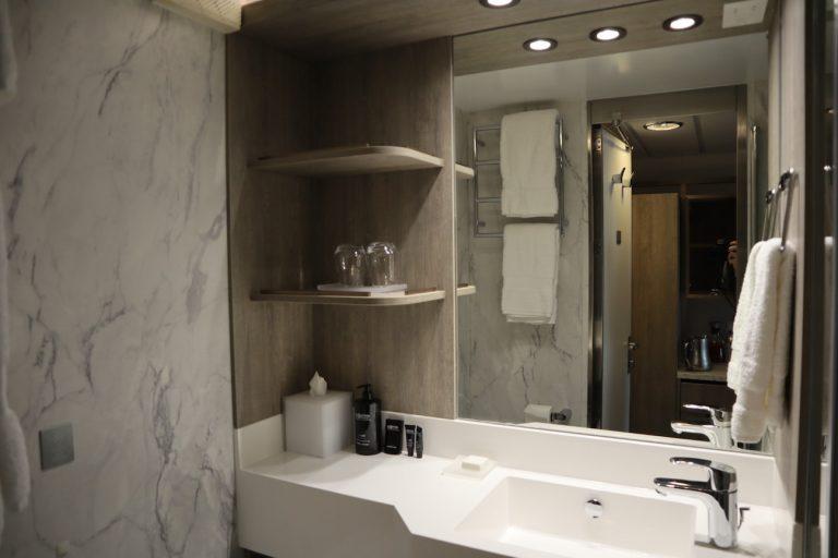 what the bathroom looks like on the celebrity millennium revolution