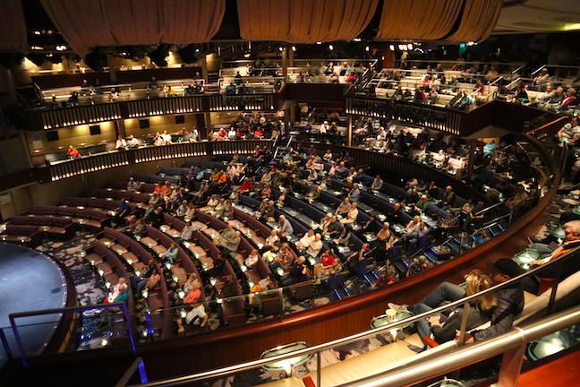 Theatre on the Celebrity Millennium 2019