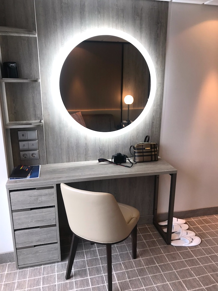 new desk area in celebrity millennium revolution