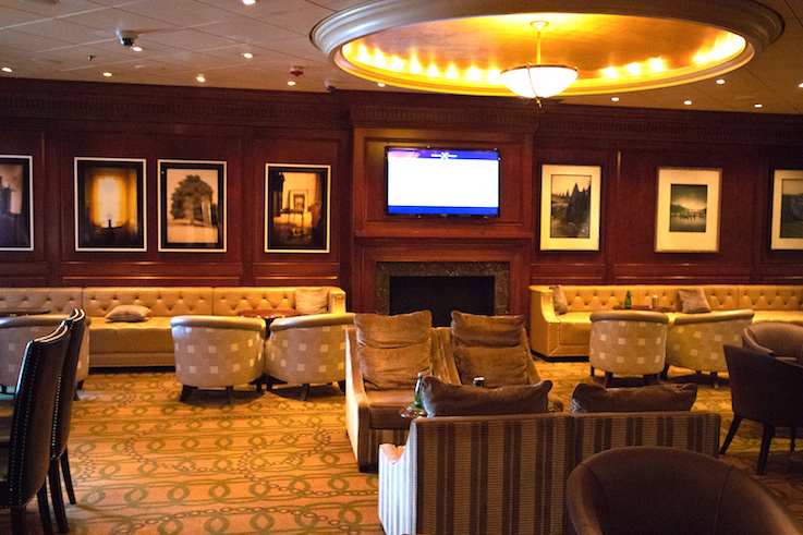 old michaels club on the Millennium ship