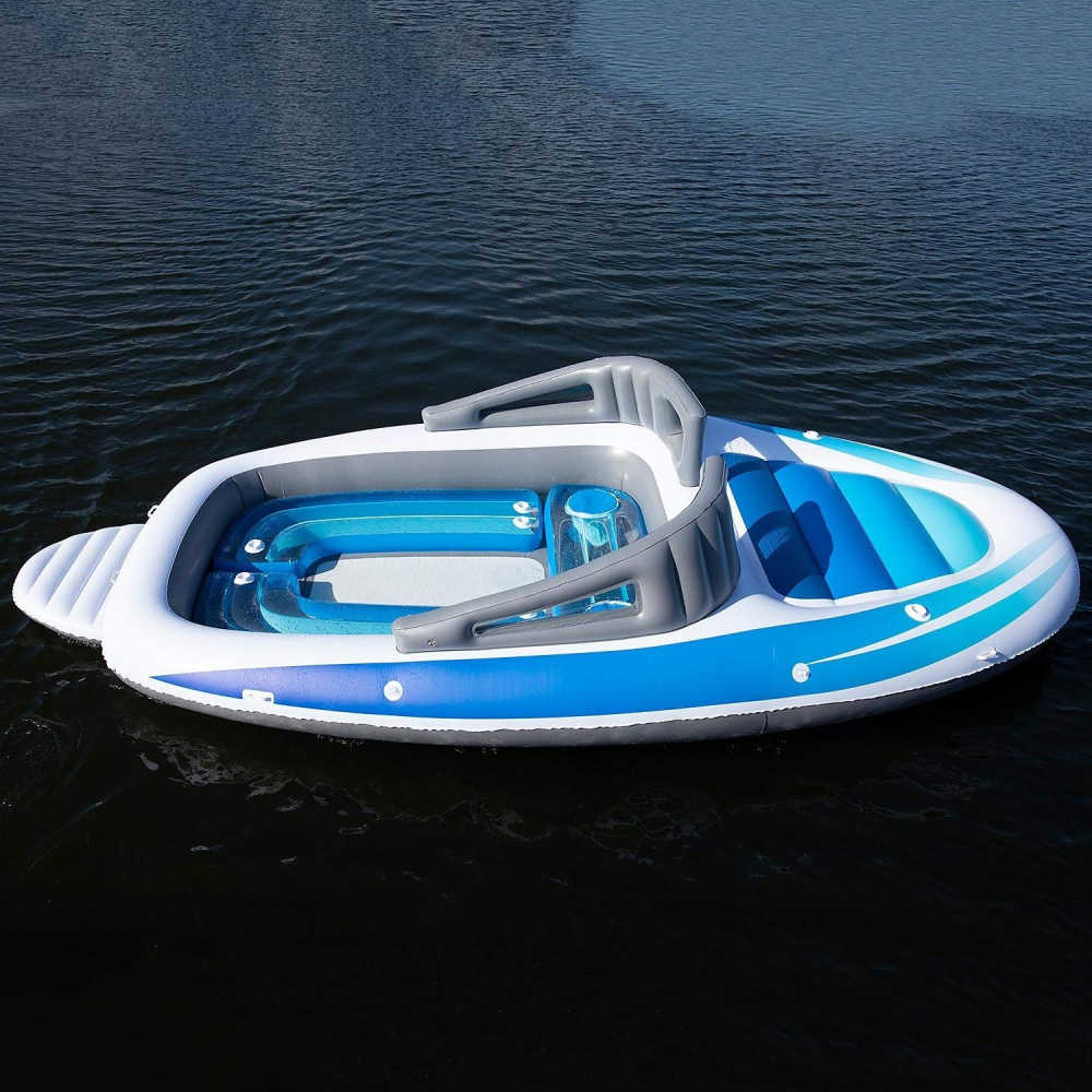 Inflatable Bay Breeze Boat Party Island
