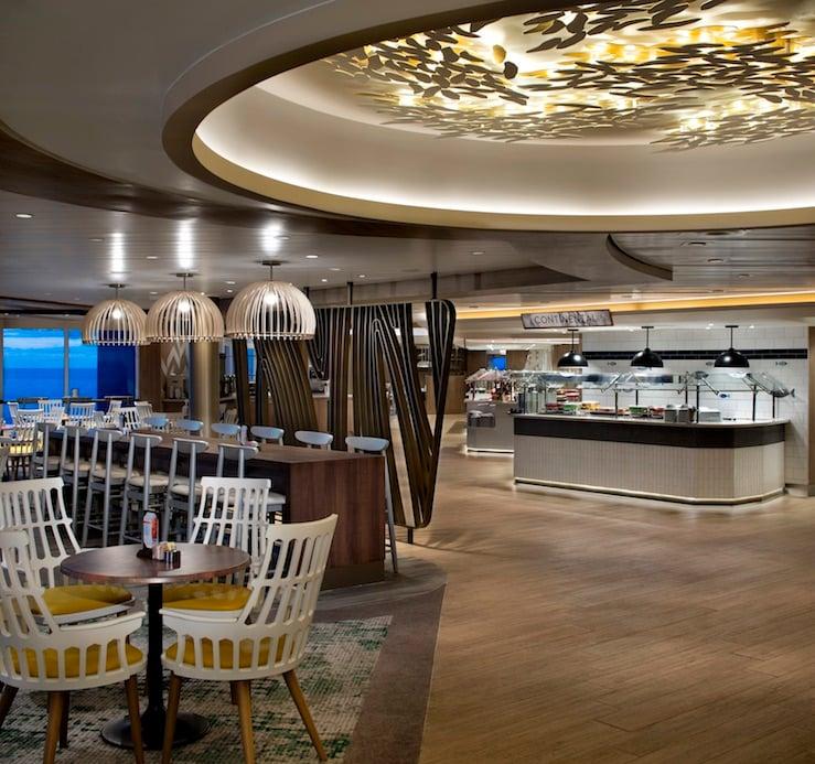 Millennium updated the Oceanview Cafe buffet