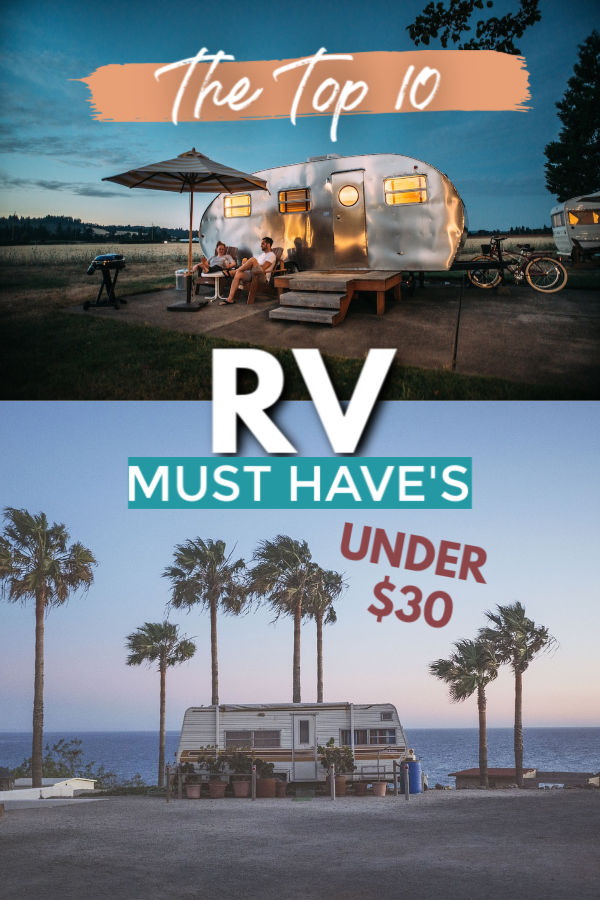 The TOP 10 Coolest RV must have's for under $30