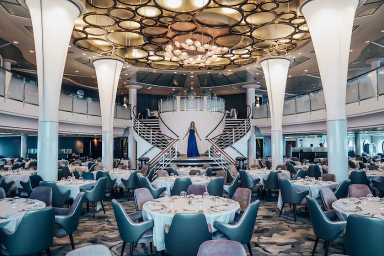The Main dining room on Celebrity Millennium - newly renovated