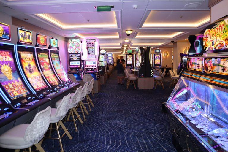 Casino on celebrity millennium renovation