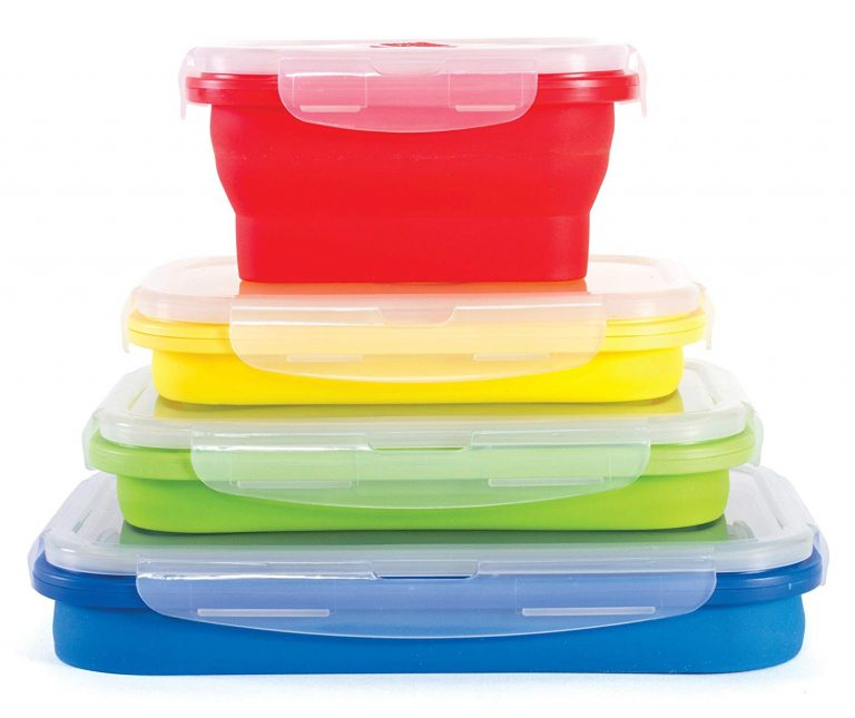 top RV accessories - collapsible food storage containers
