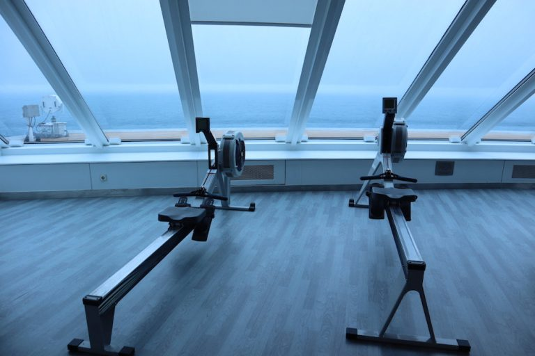 gym on the celebrity millennium