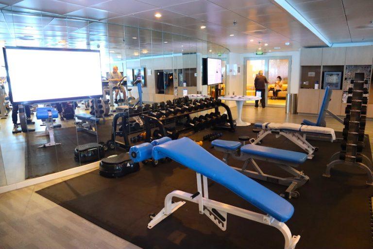 Celebrity Millennium new gym