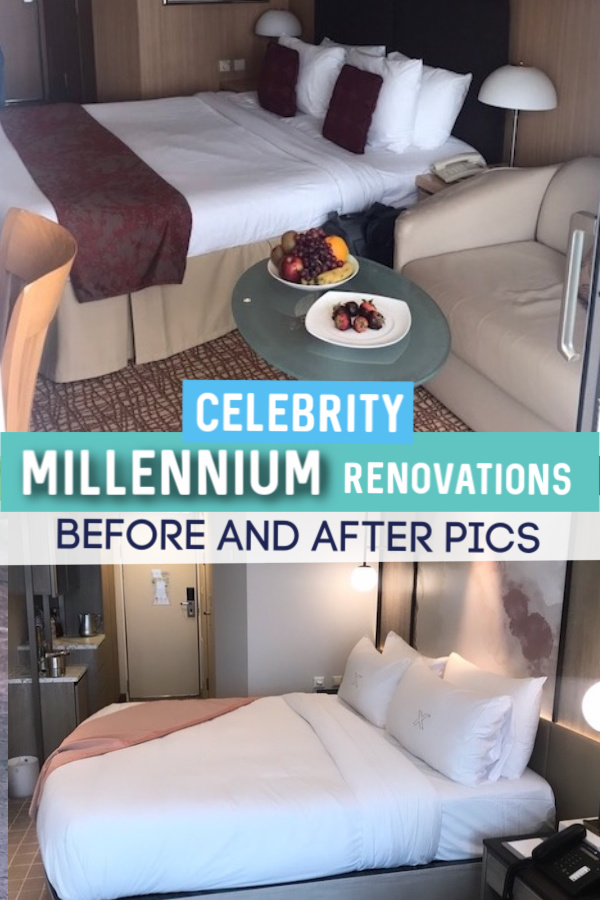 Celebrity millennium renovation before and after pics