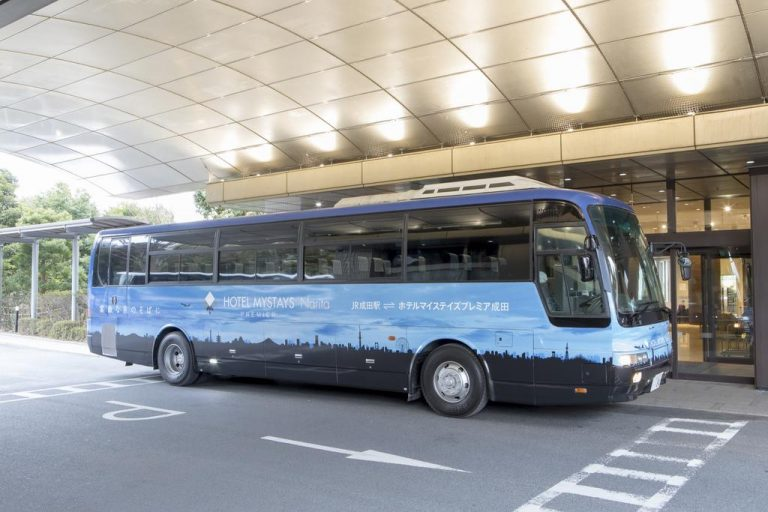 mystays narita shuttle to the airport is free