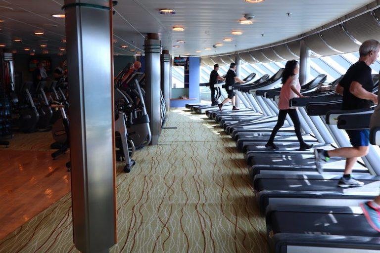 old gym on the pre-reno'ed millennium