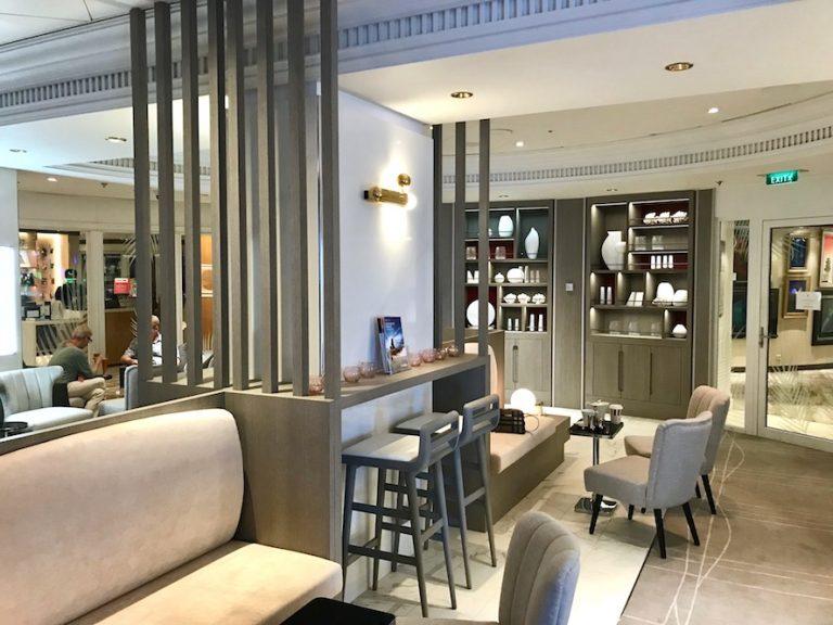 Celebrity Millennium suite class lounge - The Retreat