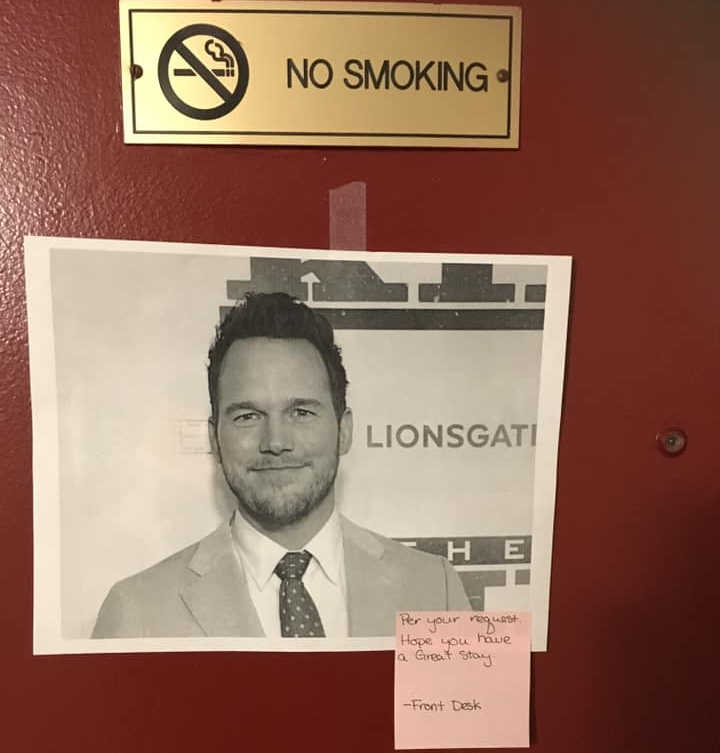 Unusual Guest Request For Chris Pratt