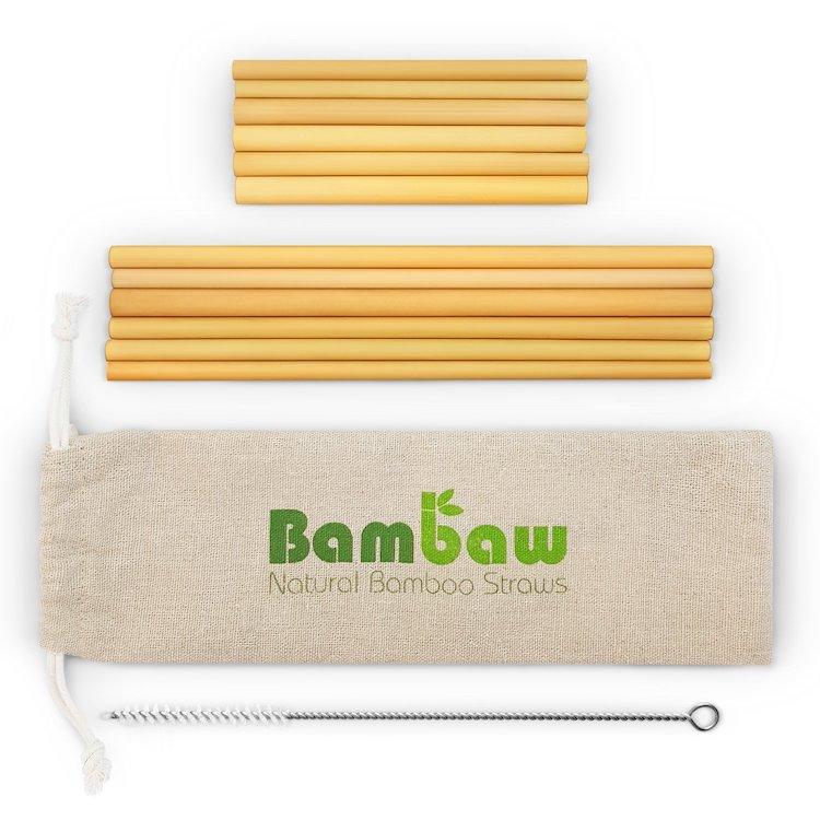 responsible travel for women - bamboo straws