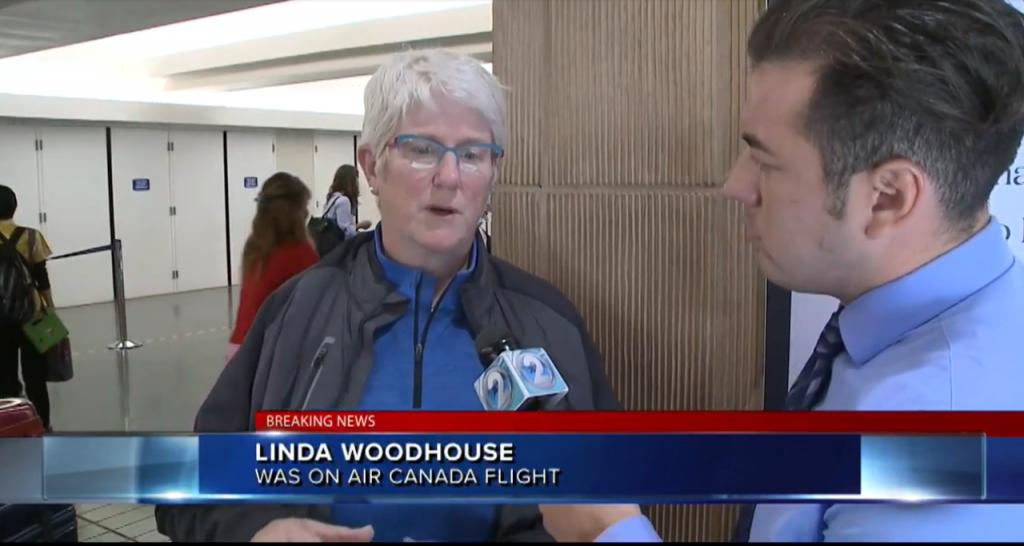 Air Canada Severe Turbulence
