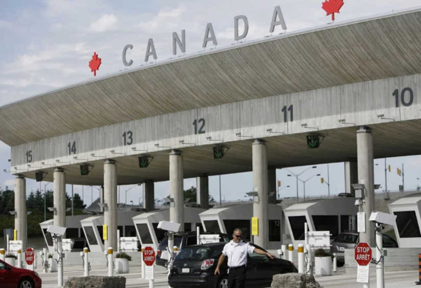 64200 American Residents Crossed The Canadian Land Border In June