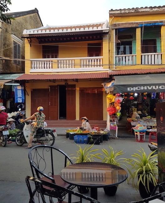 Haggling at the market in Vietnam