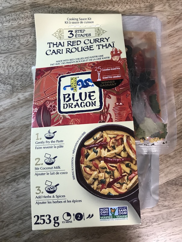 Blue Dragon red thai curry sauce