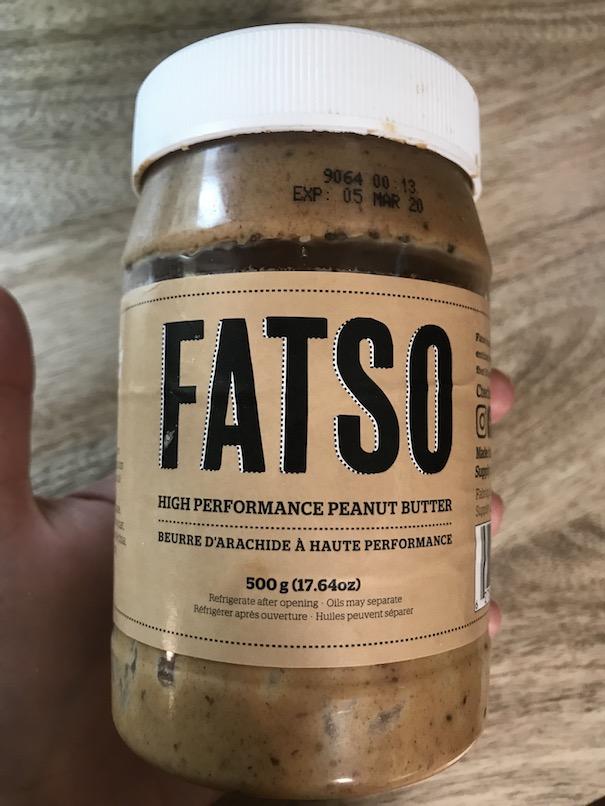 Fatso peanut butter - use in asian stir frys