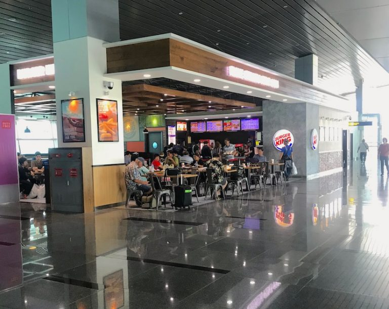 Burger King in Da Nang airport