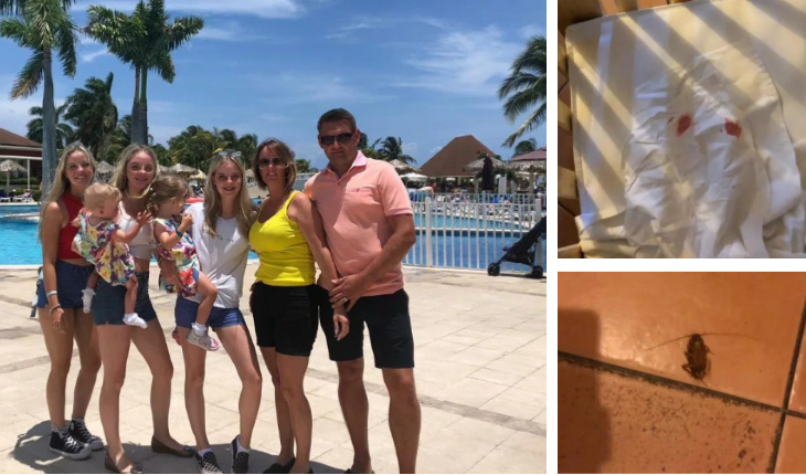 Outraged family claim spend fortune on terrible holiday