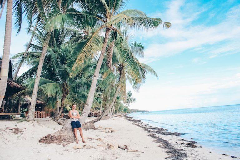 The beaches of Siquijor island