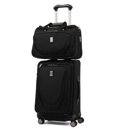 Travel crew always uses soft luggage instead of hard-sided