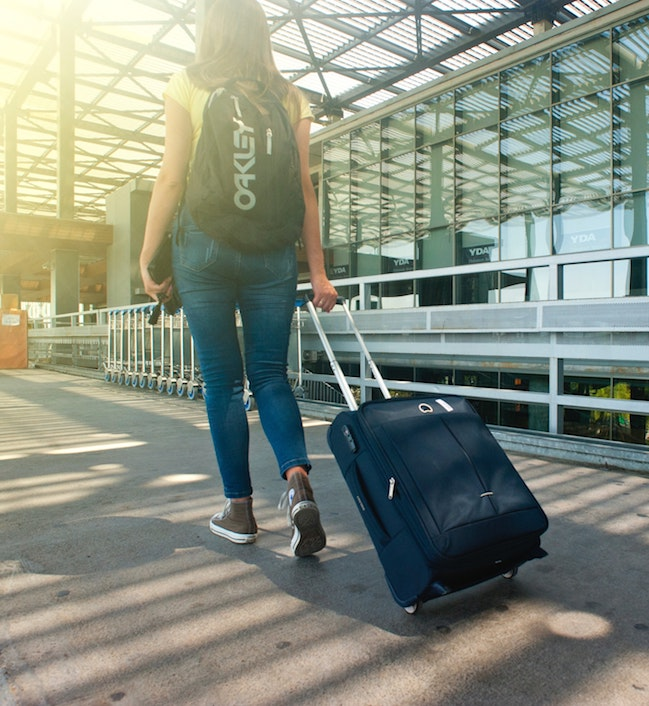 soft luggage is easier for thieves to steal from