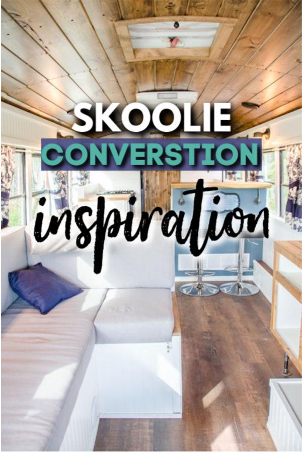 skoolie conversion inspiration
