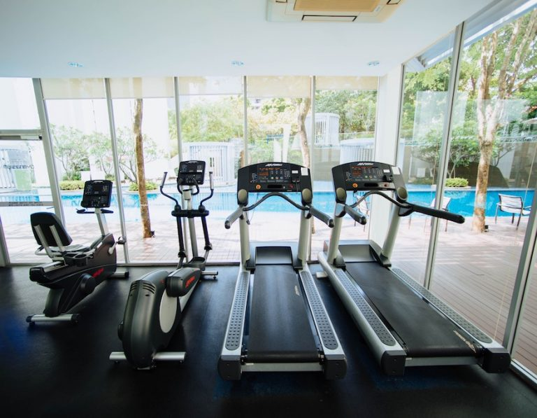 Use the hotel gym when you can