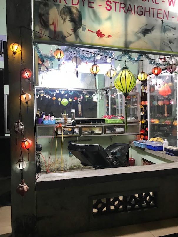 Hair salon in Hoi An